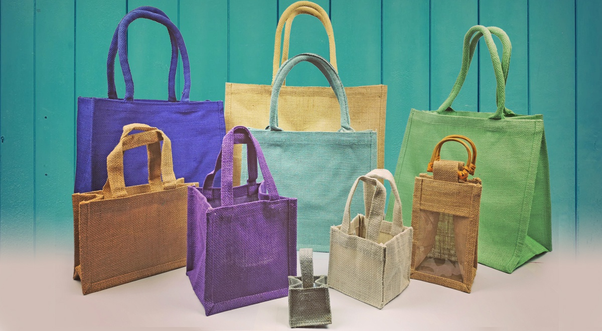 Mixed Range of Jute Bags