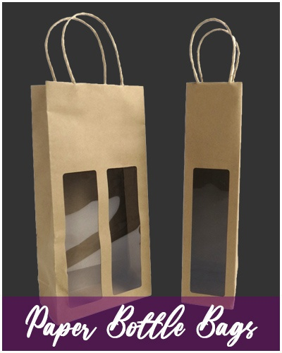 Bottle Bags | Paper with Window