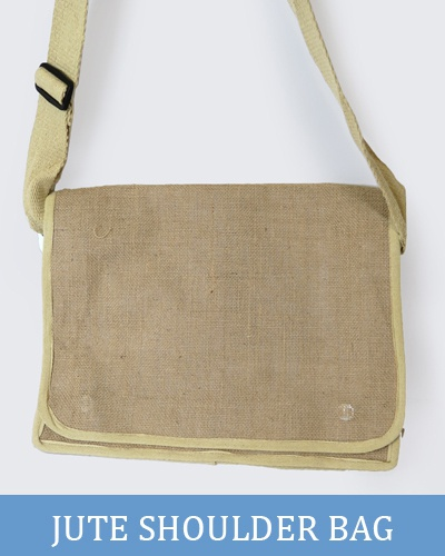 Jute Satchel Bag